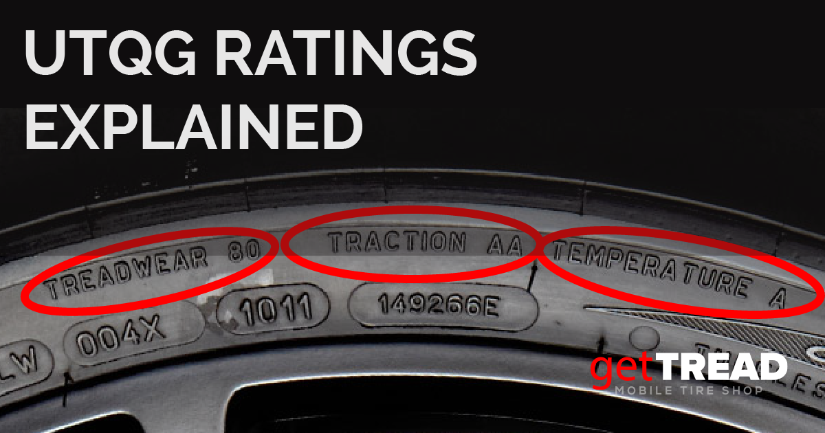 Tire UTQG Ratings Explained | getTREAD Mobile Tire Shop