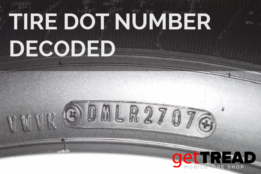 Tire DOT Number Decoded