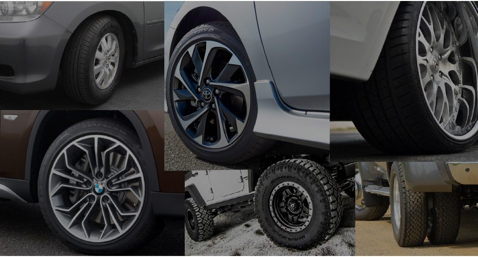 We handle standard tires, low profile tires, off-road tires, and even large diameter tires