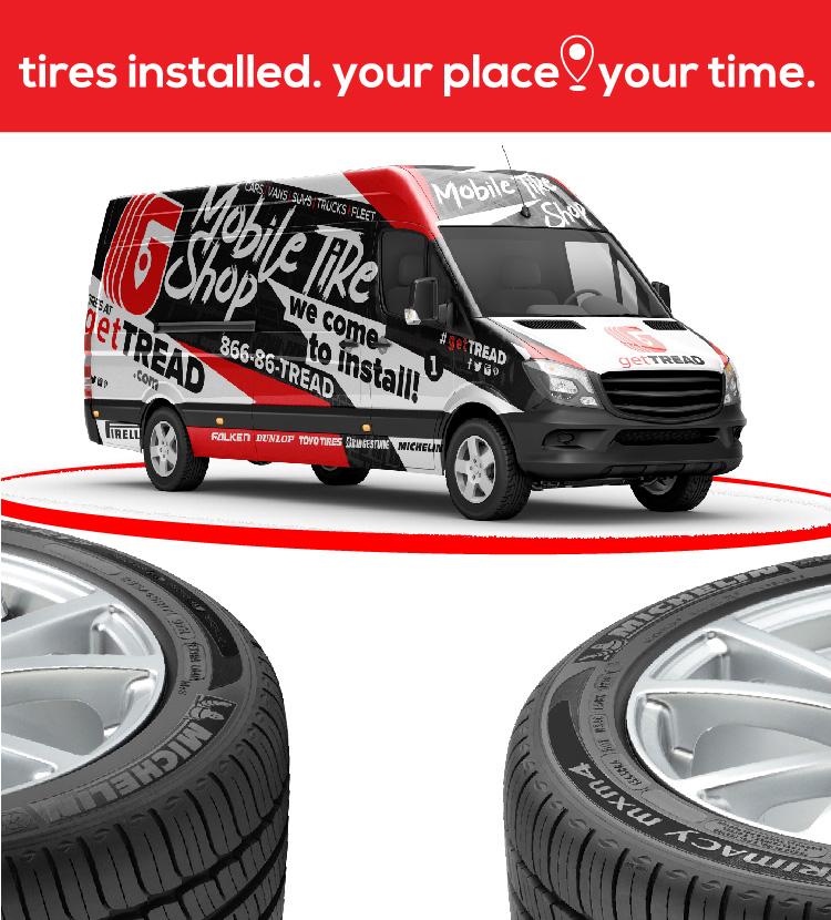 getTREAD is Orlando's premier Mobile Tire Shop