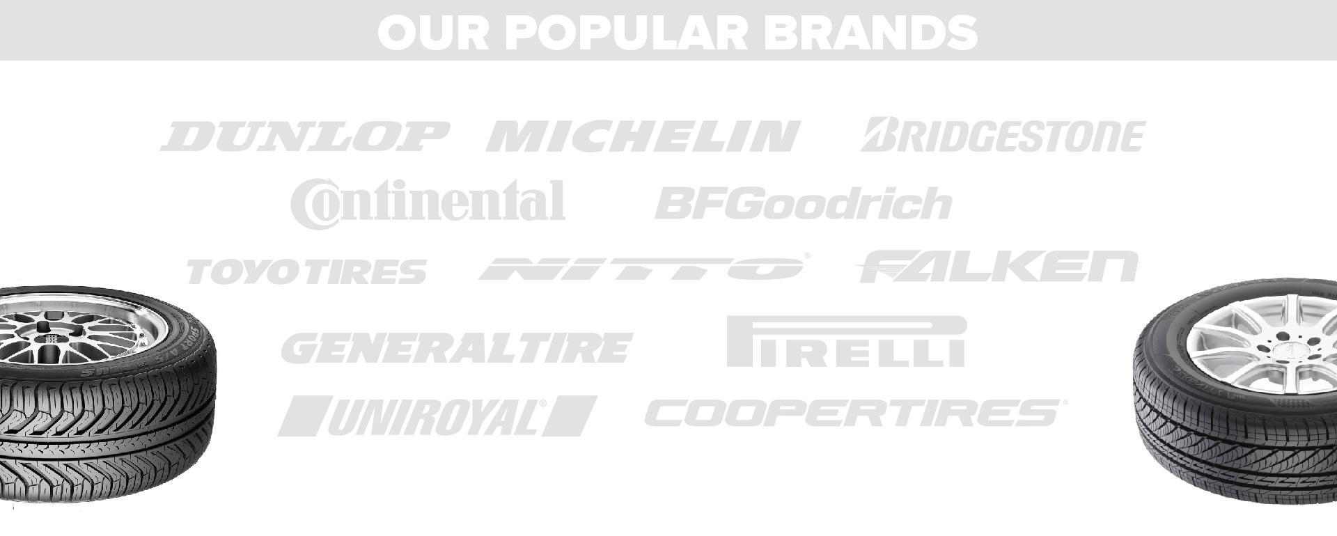 getTREAD popular tire brands