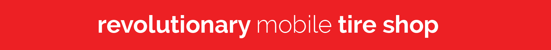 getTREAD the revolutionary mobile tire shop