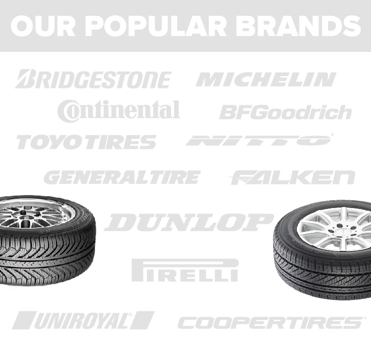 getTREAD popular tire brands