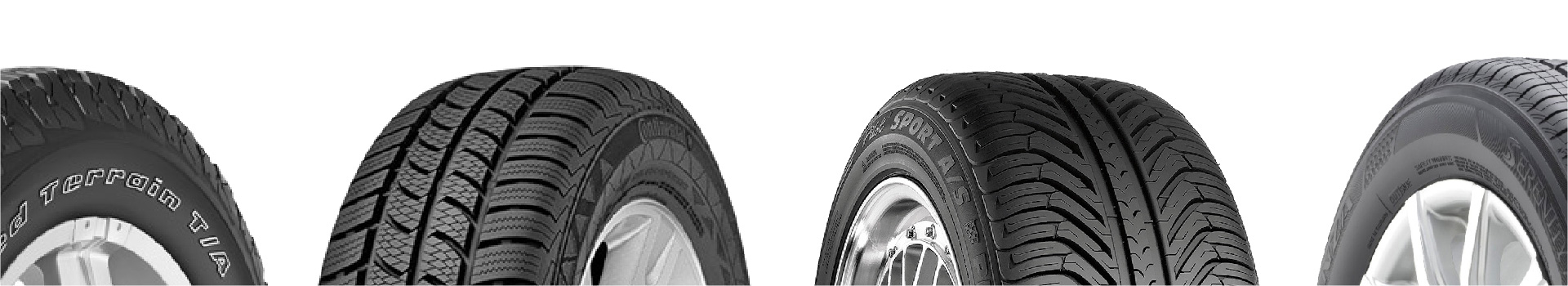 Find top brand tires like Michelin, Bridgestone, Goodyear, and Pirelli at getTREAD Mobile Tire Shop