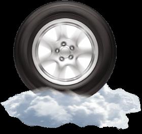 Wheel on cloud